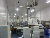 Lachsproduktion