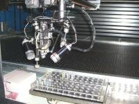 Probeneinlagerung durch Roboter