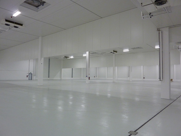 Deep Freeze Store for Meat Shipping