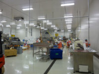 Gekühlter Produktionsraum für Seefisch